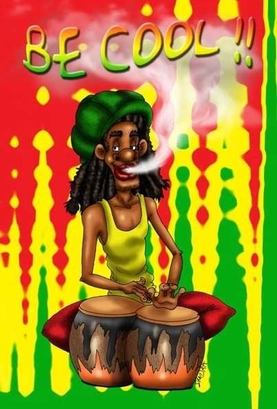 Reggae page 17 - Dessin de rasta ...
