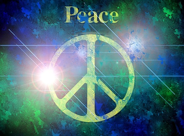 ".•° .•° .•° .•°  ""peace and love"" .•° .•° .•° .•°"